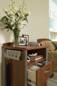 The Sonoma Hospital Bedside Table was developed in conjunction with leading healthcare professionals, designers and end-users to reflect current methods of delivery and the changing expectations of people in care. #healthcarefurniture