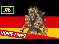 Junkrat  German Voice Lines - Overwatch Junkrat Voice Lines In German - ...