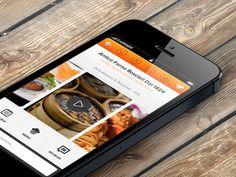 Restaurant Profile for Cibando iOS App by ZamfirKim
