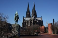Cologne Cathedral is the most visited landmark in Germany, attracting around twenty thousand people daily