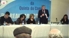 Intervenção de Vítor Antunes Pres. JF Quinta do Conde - Por uma Lar de I...