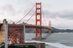 Golden Gate Bridge in San Francisco California Under Blue Sky during Daytime · Free Stock Photo Places Ive Been, Places To Visit, San Francisco California, Life Is A Journey, City Landscape, City Photography, Pacific Coast, Water Crafts, Golden Gate Bridge