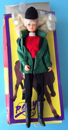 """CHELFUL """"PONY WORLD"""" FULLY JOINTED RIDING DOLL 