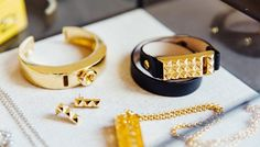 Our solution is a line of chic bracelets and necklaces that house the Fitbit Flex tracker, so you can make every step count in style.