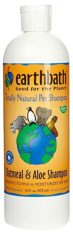 Earthbath Oatmeal & Aloe - One of the favorite shampoo options we have in our Self Serve Dog wash!