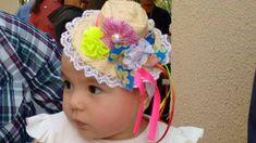 Tiara, presilha ou faixa Junina, linda para mulheres, meninas e bebês.
