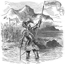 Vasco Nunez de Balboa was able to find a route through the tropical forests of Panama with the help of Native Americans and gazed at what would be later on called the south sea.