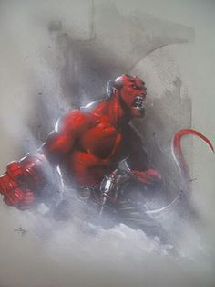 Hellboy By Gabrielle dell'otto