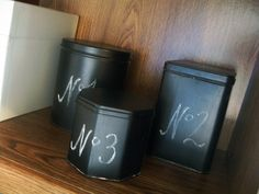 Ready to make some chalkboard tins just like those fancy black tins you see on Pottery Barn? Learn how to make my chalkboard tins….  Here is the original Pottery Barn inspiration: Some links in this post are affiliate links which means a portion of your purchase will go to support this site. What were …