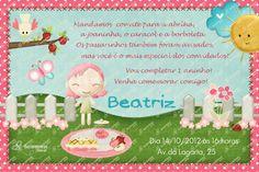 Convite Digital - Jardim #9 | Festas Personalizadas | Lembrancinhas | Scrap Festa | Scrappiness Designs