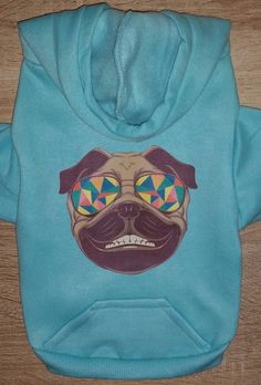 Hipster Pug Dog Hoodie - Dog Clothing - Dog Sweater - Dog Clothes - Pug Shirt - Pug - Dog Shirts - Dog - Cute Dog Hoodie by ThePassportPuppy on Etsy https://www.etsy.com/listing/508676918/hipster-pug-dog-hoodie-dog-clothing-dog