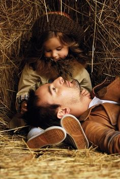 Father and daughter. Just fell in love with this picture. This is love!