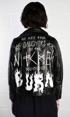 Burn Leather Jacket - product image