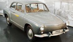 Volkswagen / VW EA 47-12, 1955-1956.  12e prototype sur 15 au sein du programme EA, conçu par Ghia, en vue du remplacement de la Coccinelle/Beetle/Käfer.