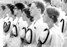 In 1976, a bill signed by President Ford authorized the admission of women into military service academies. The US Naval Academy welcomed its first female midshipmen that July. (photo: United States Naval Academy)