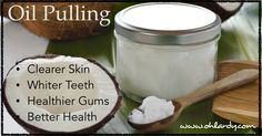 Have you tried oil pulling yet? Take a look at what oil pulling is and why you should do it!
