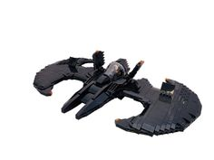 Take flight with this sleek scale version of the Caped Crusader's favorite aircraft. Built by Eivind Loekken, the Batwing even includes a special Technic Batman! Cool Minecraft Houses, Minecraft Pixel Art, Minecraft Skins, Minecraft Buildings, Hama Beads Minecraft, Perler Beads, Lego Moc, Lego Lego, Special Pictures
