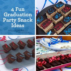 4 Fun Graduation Party Snack Ideas