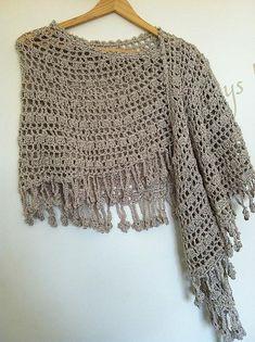 crescent moon shawl