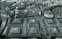 Les Halles centrales, photographie de Roger Henrard.
