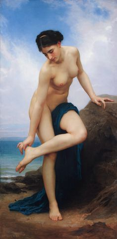 William-Adolphe Bouguereau, After the Bath, 1875