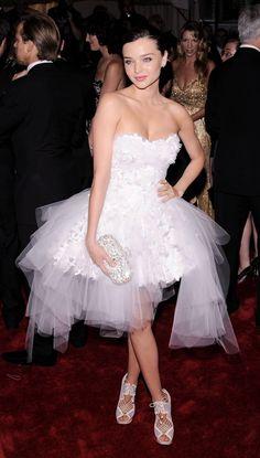 miranda kerr met gala 2011 #TopshopPromQueen