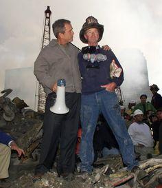 Never Forget: Bush Speech at Ground Zero on 9/11/01 is still so powerful