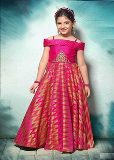 Long Gown For Kids - Buy Party Wear Gown At Best Price | Gunj Fashion