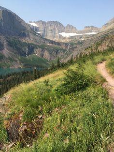 Glacier National Park: Beginning of Grinnell Glacier Trail | Park Family Insurance Protection Blog