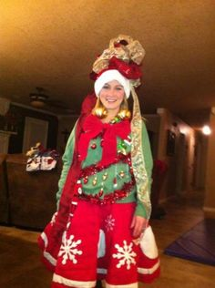 Diy ugly christmas sweater with lights 2014 2015 fashion trends 15 do it yourself ugly christmas sweaters solutioingenieria Images