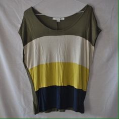PRICE DROP Striped Shirt NWOT NWOT striped shirt from Forever 21. Size large. Never worn! Forever 21 Tops