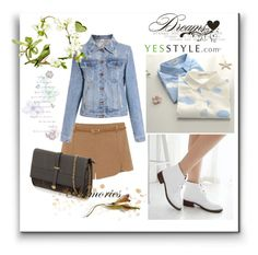 """""""YesStyle - 10% off coupon"""" by woman-1979 ❤ liked on Polyvore featuring JY Shoes, YesStyle, Spring and yesstyle"""