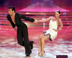 Stefano Di Filippo and Anna Melnikova on Italian Dancing With The Stars