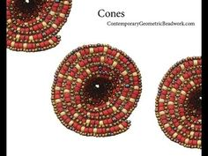 Video: The Cone Stitch! -  #Seed #Bead #Tutorials