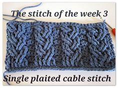 New week, new stitch ByKaterina Crochet
