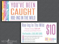 LuLaRoe | Floral Roe-ing In The Wild card