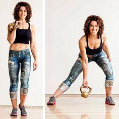 Lorna Kleidman, Kettlebell Workout