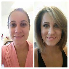 Pretty,  casual makeup