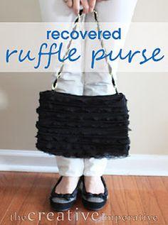 a million dollar idea!!  Slipcovers for purses!!