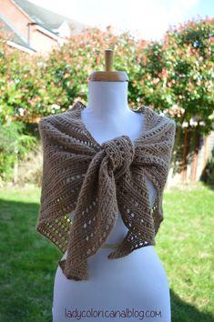 DSC_1697r Knitted Shawls, Lady, Free Pattern, Sewing, Knitting, Bonnets, Women, Creative, Fashion
