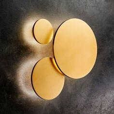 Soho W1 LED Væglampe Guld Ø12 - Light Point