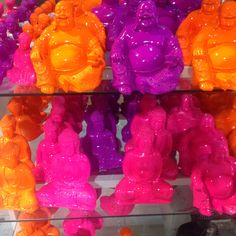 Fluro Buddha