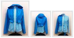 detachable rain jacket by Lululemon via www.sistersthriftboutique.com