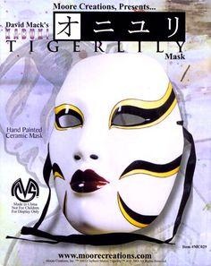 David Mack Guide.com: Portfolio  Kabuki: Masks - Tigerlily