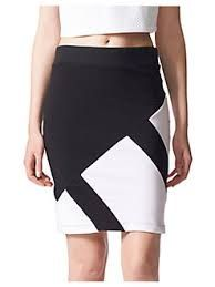 Image result for white patchwork leather skirt