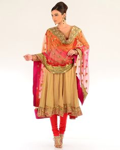 The Sonali Anakarkali Suit - Exclusively In