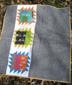 31 Inspiring Quilters ~ Jessica from a little gray | Sew Mama Sew |  I really do love this.