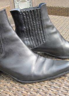 Kaufe meinen Artikel bei #Kleiderkreisel http://www.kleiderkreisel.de/damenschuhe/stiefeletten/54363102-echtleder-stiefeletten-rebeca-sanver