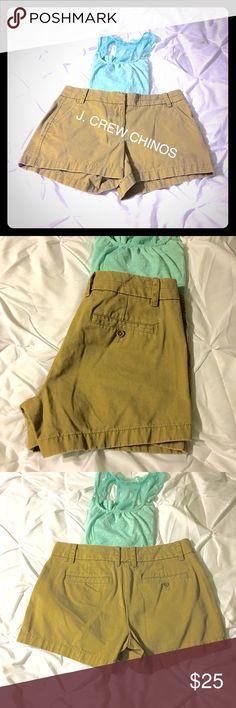 J. CREW Chino Shorts SZ 6 NWOT J. Crew Chino Shorts SZ 6.  Awesome shorts!!😎 J. Crew Shorts