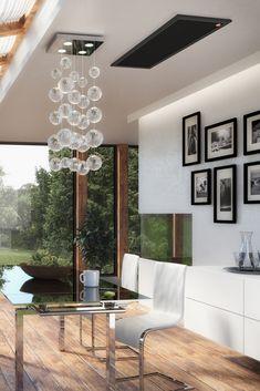 Ob Neubau, Sanierung oder Zusatzheizung: easyTherm ist mehr als eine Heizung - easyTherm ist Design, easyTherm ist Kompakt, easyTherm ist Wohlfühlen. Modern, Ceiling Lights, Lighting, Home Decor, New Construction, Infrared Heater, Homes, Homemade Home Decor, Trendy Tree